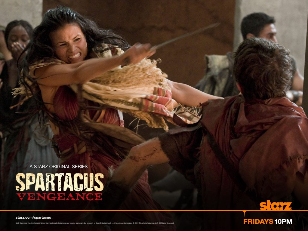 Six Ways Dinah of Seneca is Like Spartacus on Starz