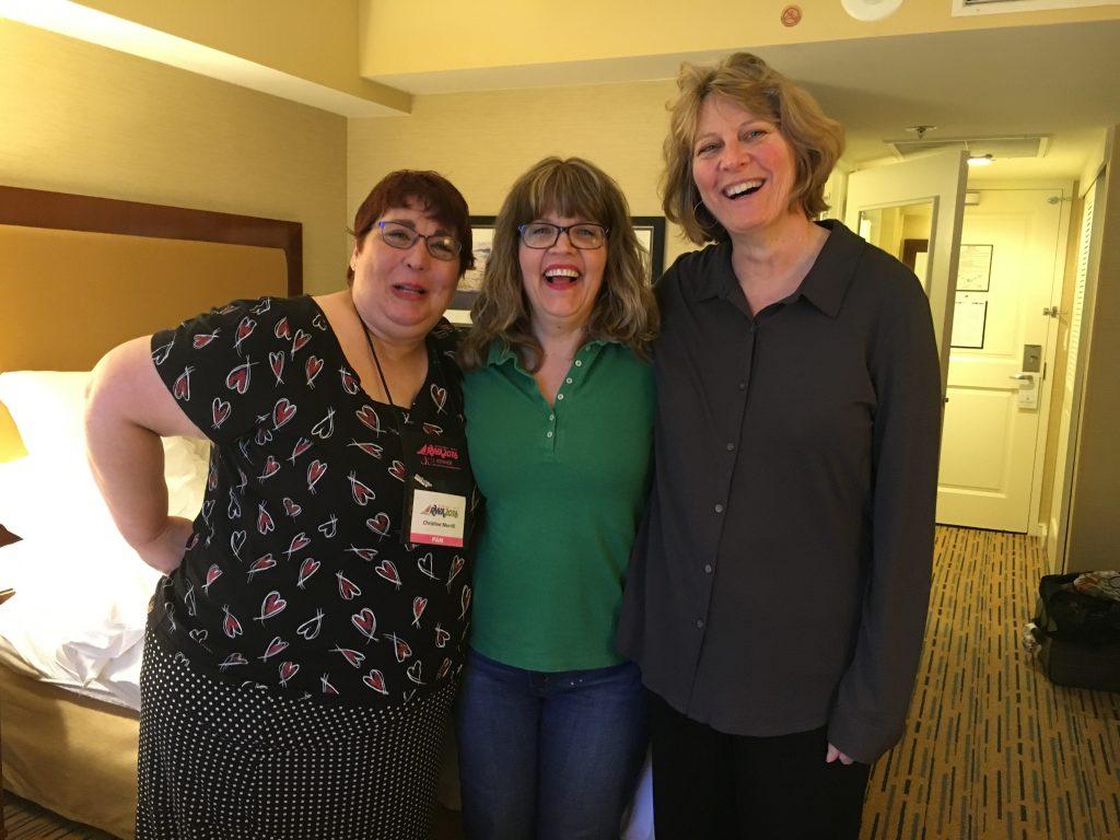 Christine Merrill, Katy Cooper & Robin LaFevers. :)