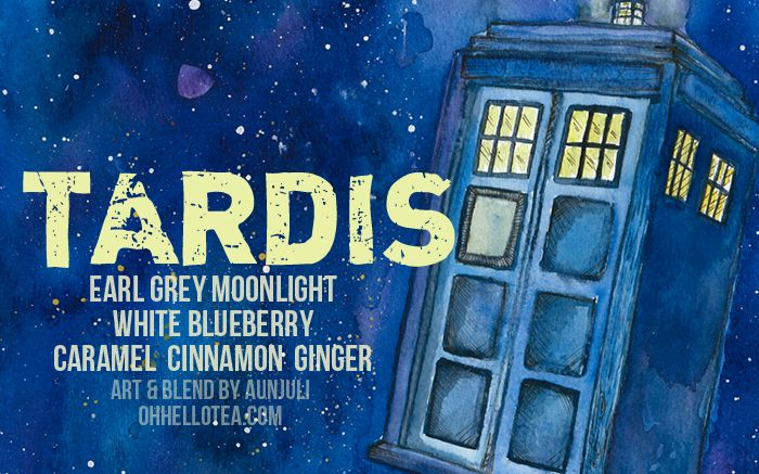 Tardis Tea from Adagio Teas online.