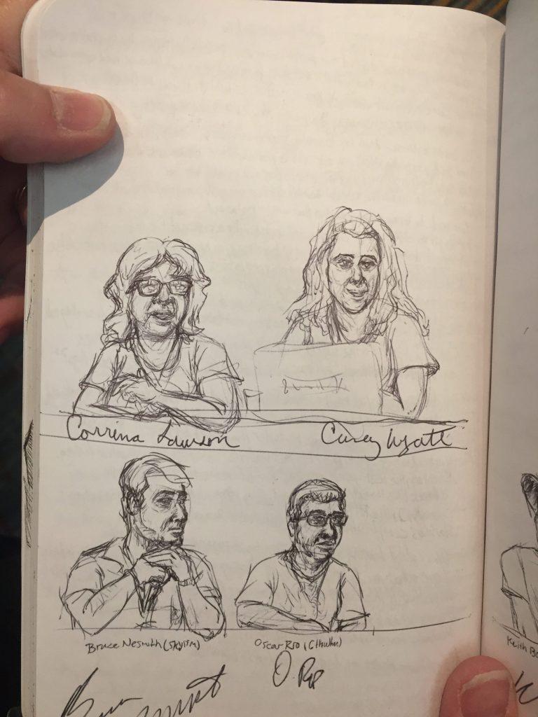 ConnectiCon Heros Journey panel